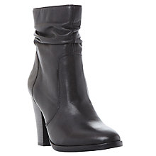 Buy Steve Madden Hunk Block Heeled Calf Boots Online at johnlewis.com