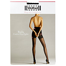 Buy Wolford 20 Denier Ralia Control Top Tights, Black Online at johnlewis.com