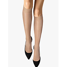 Buy Wolford 20 Denier Satin Touch Knee High Socks Online at johnlewis.com