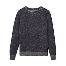 Buy Mango Kids Boys' Flecked Knit Jumper Online at johnlewis.com