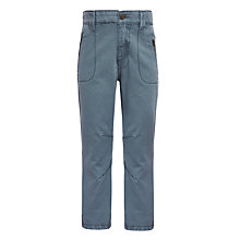 Buy John Lewis Boys' Zip Pocket Trousers, Charcoal Online at johnlewis.com