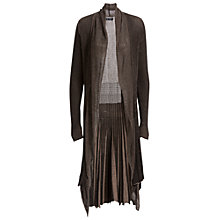 Buy Max Studio Long Sleeve Cardigan, Black/Toast Online at johnlewis.com