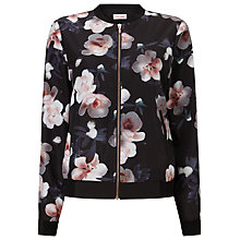 Buy Phase Eight Adamma Floral Bomber Jacket, Multi Online at johnlewis.com
