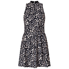 Buy Miss Selfridge Double Layer Dress, Black Online at johnlewis.com