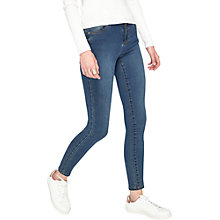 Buy Miss Selfridge Sofia Authentic Jeans, Mid Wash Denim Online at johnlewis.com