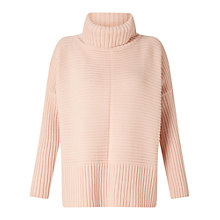 Buy Miss Selfridge Chunky Knitted Jumper, Pink Online at johnlewis.com
