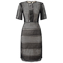 Buy Phase Eight Alison Sequin Dress, Black Online at johnlewis.com