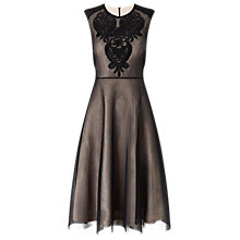 Buy Phase Eight Annie Dress, Black/Nude Online at johnlewis.com