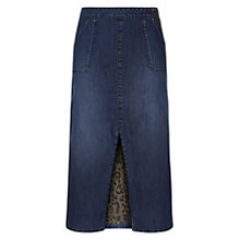 Buy Donna Ida for Jaeger Sabrina Split Midi Skirt, Guilty Pleasure Online at johnlewis.com