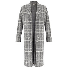 Buy Miss Selfridge Longline Duster Coat, Grey Online at johnlewis.com