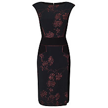 Buy Phase Eight Britt Dress, Black Online at johnlewis.com