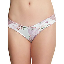 Buy Royce English Rose Brazilian Briefs, Floral Print Online at johnlewis.com