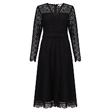 Buy Somerset by Alice Temperley All Over Lace Dress, Black Online at johnlewis.com