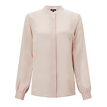 Buy Bruce by Bruce Oldfield Silk Plain Shirt, Blush Online at johnlewis.com