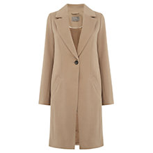 Buy Oasis Kimberly Car Coat. Mid Neutral Online at johnlewis.com