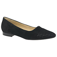 Buy Gabor Feast Closed Pumps, Black Online at johnlewis.com