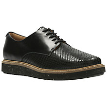 Buy Clarks Glick Darby Flatform Brogues Online at johnlewis.com