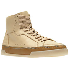 Buy Clarks Hidi Haze Hi Top Trainers, Nude Online at johnlewis.com