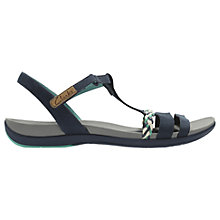 Buy Clarks Tealite Grace Sandals, Navy Online at johnlewis.com