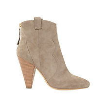 Buy Mint Velvet Camilla Cone Heel Ankle Boots Online at johnlewis.com