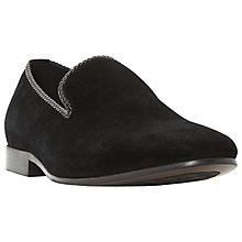 Buy Dune Riverview Slip-On Shoes, Black Online at johnlewis.com