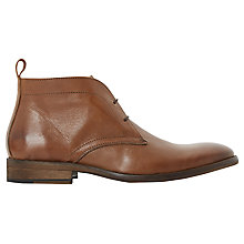 Buy Bertie Chief Chukka Boot, Tan Online at johnlewis.com