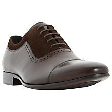 Buy Dune Resolute Lea Oxford Comb Shoes Online at johnlewis.com