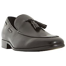 Buy Dune Rolands Chisel Tassel Loafer, Black Online at johnlewis.com