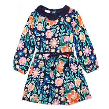 Buy Margherita Kids Girls' Digital Print Floral Dress, Multi Online at johnlewis.com