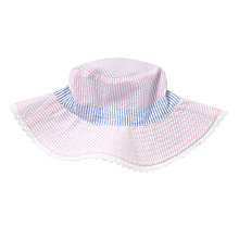 Buy John Lewis Children's Reversible Seerscuker Stripe Bucket Hat, Multi Online at johnlewis.com