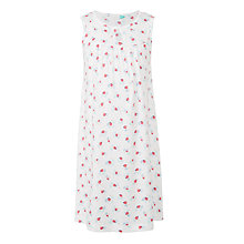Buy John Lewis Children's Ladybird Print Night Dress, Gardenia Online at johnlewis.com