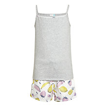 Buy John Lewis Children's Summer Fruit Short Pyjamas, Multi Online at johnlewis.com