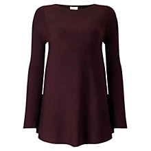 Buy East Merino Rib Swing Jumper Online at johnlewis.com