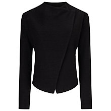 Buy Phase Eight Rosanna Zip Jacket, Charcoal Online at johnlewis.com