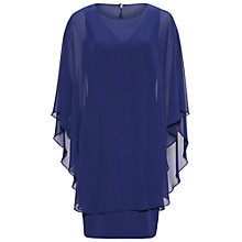 Buy Gina Bacconi Beaded Edge Chiffon Cape And Crepe Dress Online at johnlewis.com