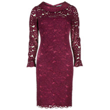 Buy Gina Bacconi Dainty Corded Rose Lace Dress Online at johnlewis.com