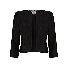 Buy Phase Eight Tapework Jacket, Black Online at johnlewis.com