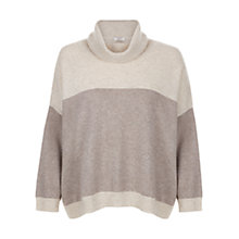 Buy Hobbs Cashmere Kelly Jumper, Oatmeal Melange Online at johnlewis.com