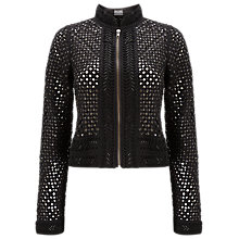 Buy Phase Eight Belluci Sequin Jacket, Black Online at johnlewis.com
