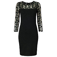 Buy Phase Eight Foil Suzy Dress, Forest Online at johnlewis.com