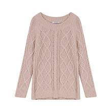 Buy Gerard Darel Aran Jumper, Nude Online at johnlewis.com