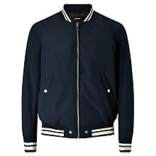 Buy Diesel J-Radical Bomber Jacket, Total Eclipse Online at johnlewis.com