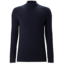 Buy Selected Homme Lex High Neck, Dark Navy Online at johnlewis.com