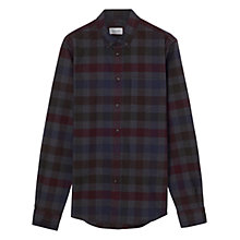 Buy Jigsaw Oversize Cotton Shirt, Multi Online at johnlewis.com