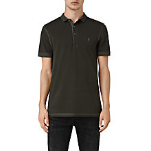 Buy AllSaints Reform Polo Shirt, Lichen Online at johnlewis.com