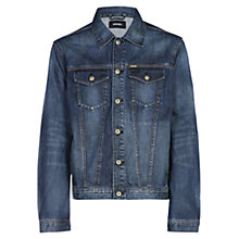 Buy Diesel Nhill Denim Jacket, Blue Online at johnlewis.com