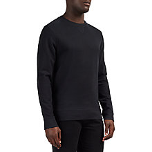 Buy Selected Homme Boris Cotton Crew Neck Sweatshirt Online at johnlewis.com