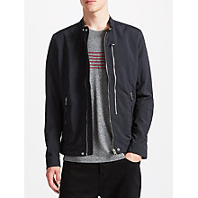 Buy Diesel J-Miles Nylon Racer Jacket, Black Online at johnlewis.com