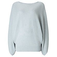 Buy Phase Eight Kara Kimono Sleeve Jumper, Soft Blue Online at johnlewis.com