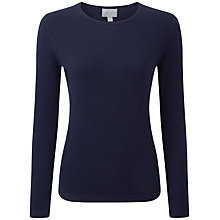Buy Pure Collection Gabriela Cashmere Jumper, Navy Online at johnlewis.com
